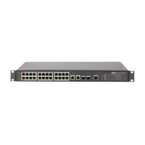 Network Switch 24-Port PoE Switch